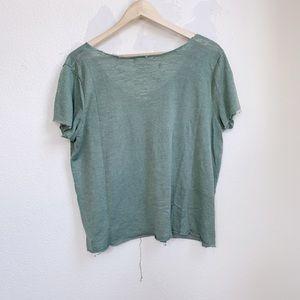 Project Social T Tops - Project Social T | Raw Hem Distressed Shirt